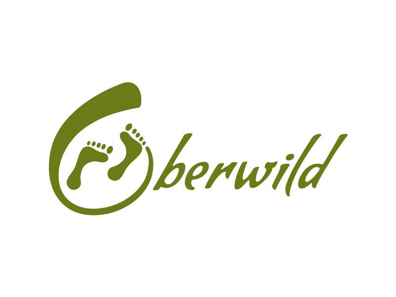 Logo-Design Oberwild - Wildniswandern