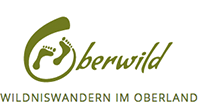Oberwild Wildniswandern im Oberland Logo